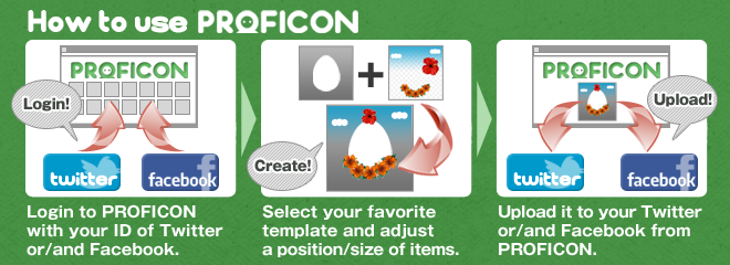 proficon create template and design your profile icon